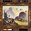 Thumbnail: Large Framed Mountain Scene Oil Painting in Gilt Gold Frame