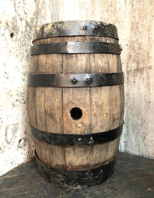Small Antique Oak Wine Barrel