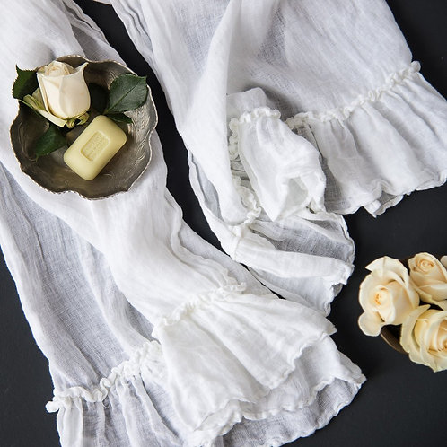 Linen Whisper Guest Towel