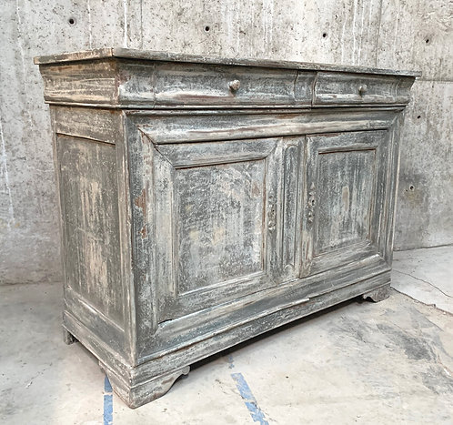 Painted Louis Philippe Painted Buffet