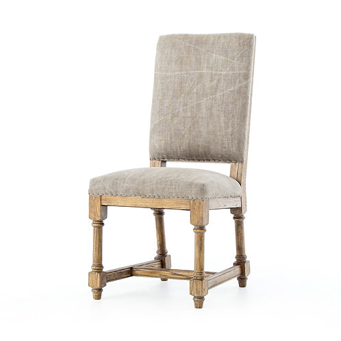 Antoine Dining Chair-Stonewash Heavy Jute