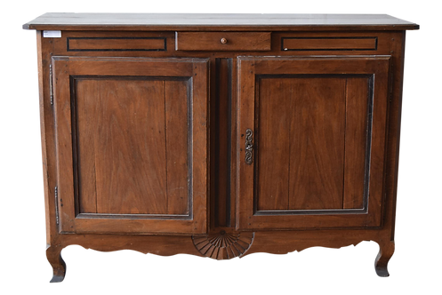 Antique French Provincial Oak Buffet, 19th C