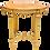 Thumbnail: Late 19th Century Antique Louis XVI Style Parcel Gilt Marble Table