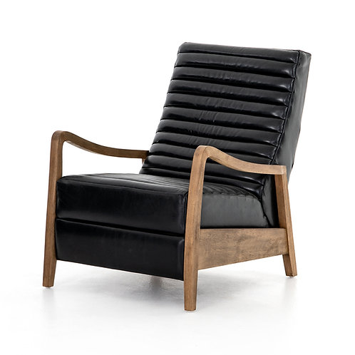 Charles Recliner-Dakota Black