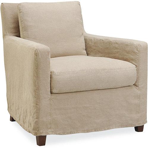 Mateo Slipcovered Chair