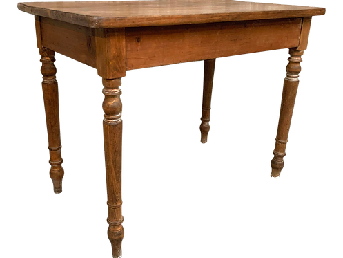 Small Writing Desk With One Drawer
