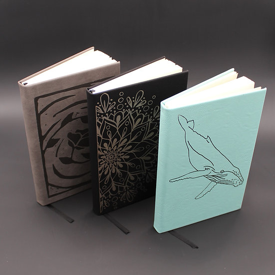 Engraved Notebook (Specify Design)