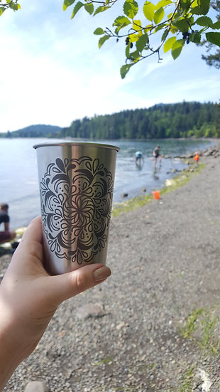 Stainless Steel Pints (Select Images)