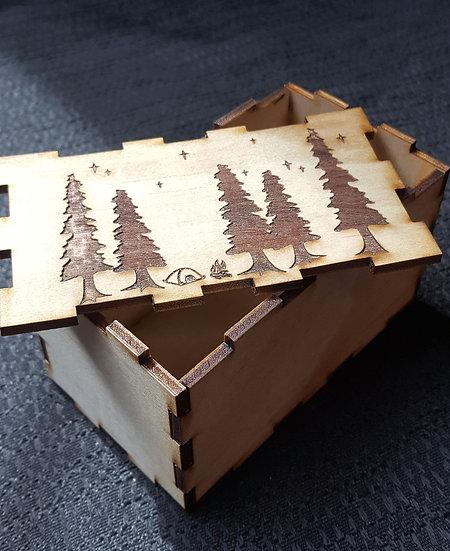 Campout Puzzle Box