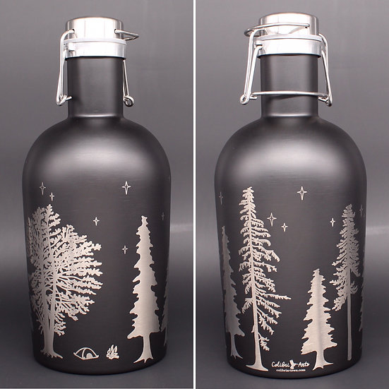 Stainless Steel Growlers (two sizes/styles)