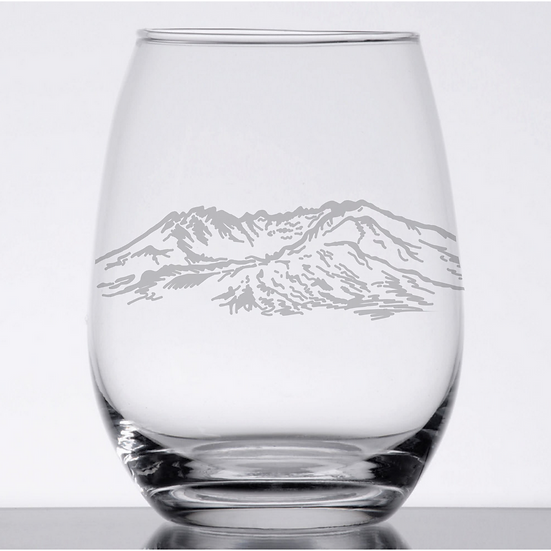 Stemless Wine Glass (Specify Design)