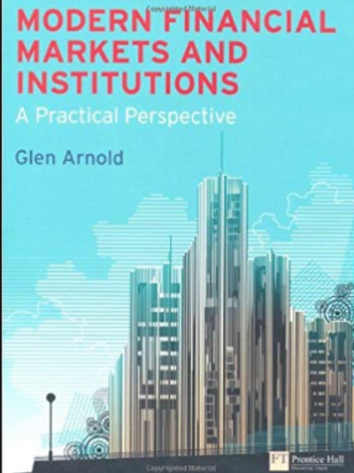 Modern Financial markets and institutions