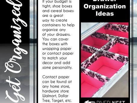 Drawer Organization Ideas