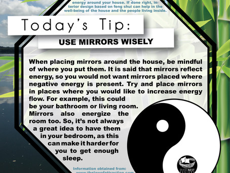 DIY Feng Shui - Use Mirrors Wisely