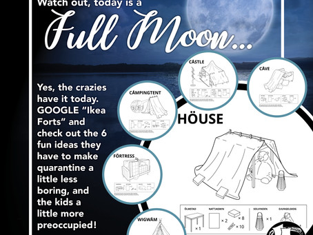 Watch out, today is a Full Moon