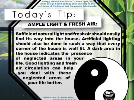 DIY Feng Shui - Ample Light & Fresh Air