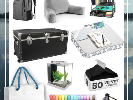 Obsessed Over Dorm Room Must Haves (With College Packing Lists)