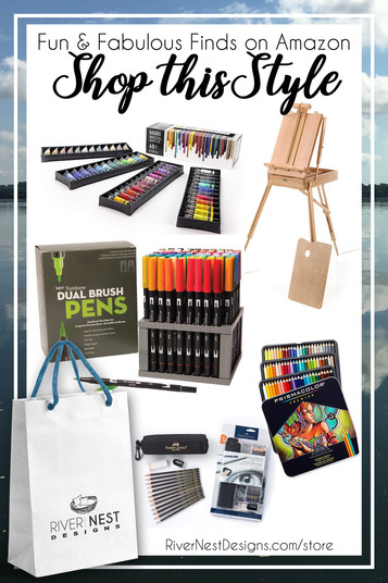 Art Supplies You Need for Back to School or You Just Can't Live Without...