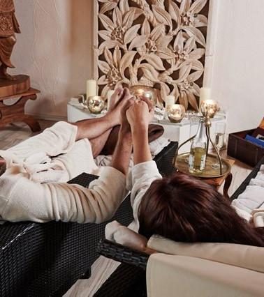Relaxen im Ruheraum