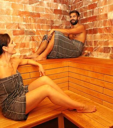 Salzkristall Sauna im Orient Privat Spa