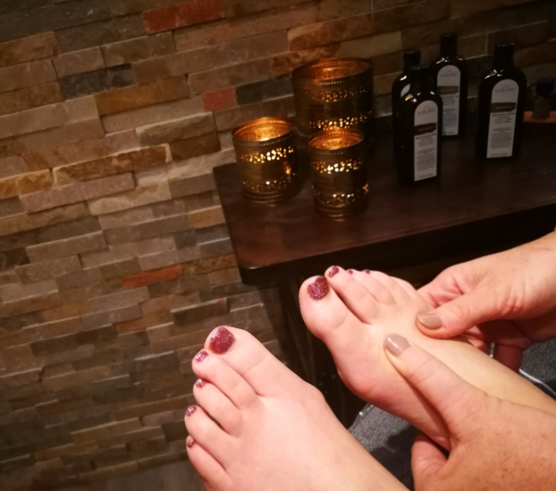 Fussenergie Zonen Massage