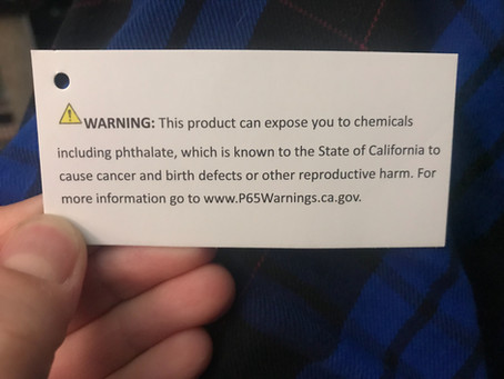 Consumer chemicals - know what you're buying