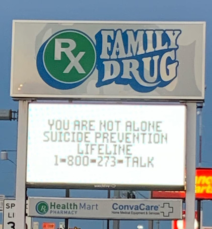 RX Family Drug for Suicide Prevention