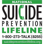 Suicide Prevention Lifeline Magnet Info.