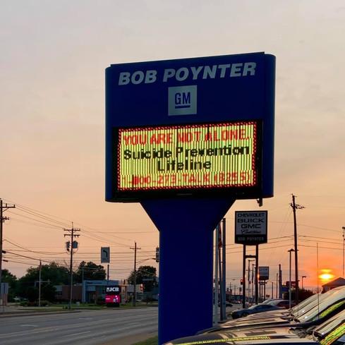 Bob Poynter for Suicide Prevention