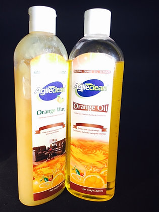 Orange Oil&Orange Wax Leather & Wood Cleaner