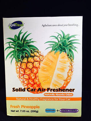 Solid Air Freshener Cream pineapple