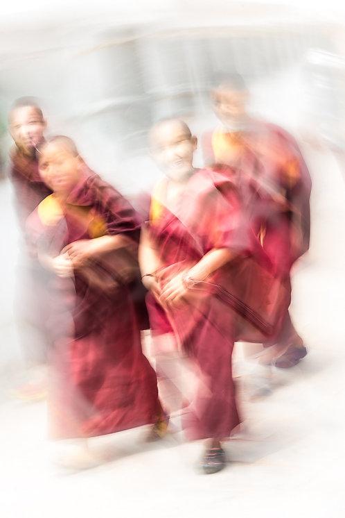 """Little Monks"""