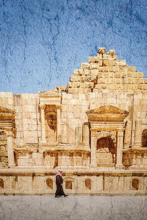 """Man in Jerash"""