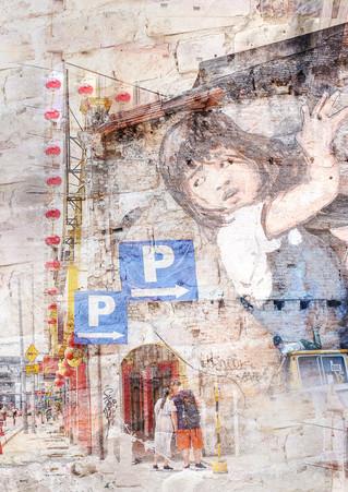"""""""Street Scene, Chinatown"""""""