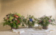centro de flores caja