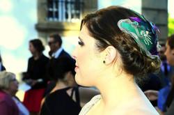 Ana Vez sombrerera Tocado Aitana boda Sa