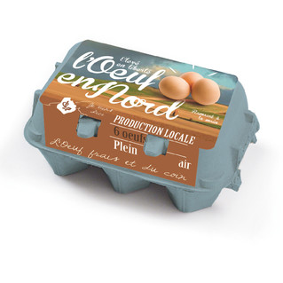packaging oeufs