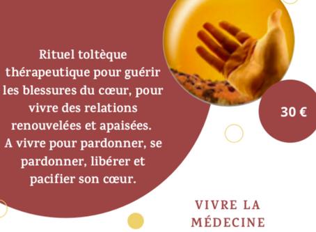 Vivre la Médecine Toltèque du cœur avec un Cercle de Pardon