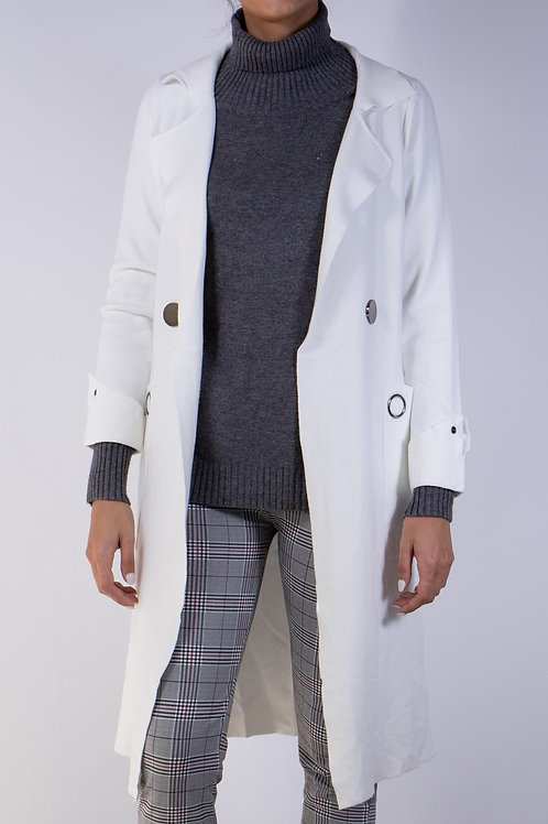 Mr. Right Long Light-weight Trench Cardigan