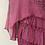 Thumbnail: Long sleeve Silk Italian Animal print tunic