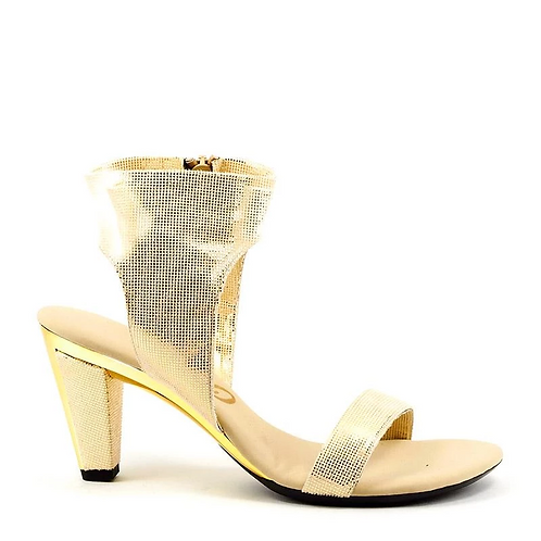 Showgirl Sandals Dripping in Gold