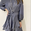 Thumbnail: Off shoulders blue dress with layered bottom