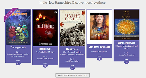 Examples of Indie NH Books