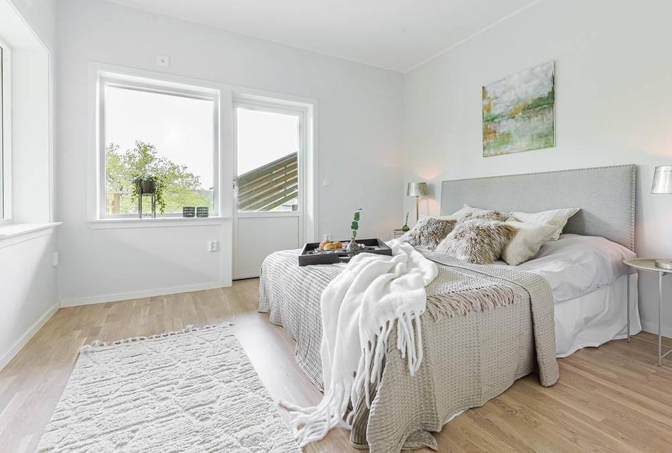 Master Bedroom Rindö Homestaging