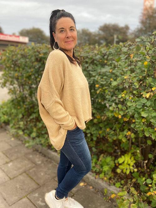 SASSA Oversized Sweater, Caramelle