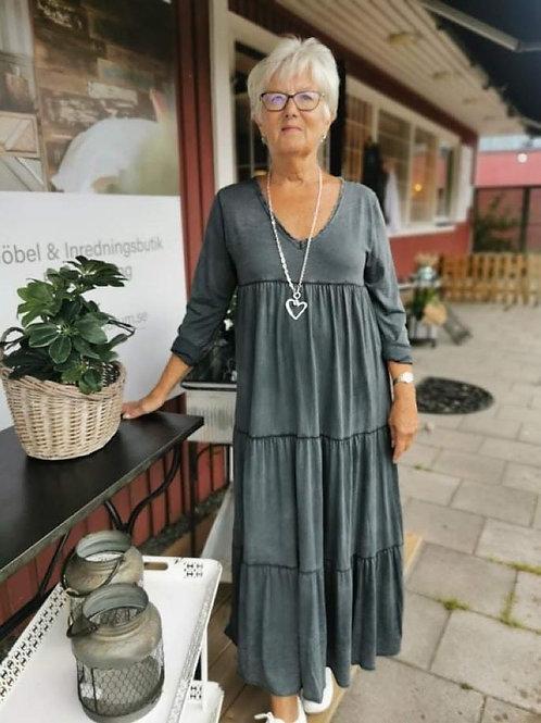 Cosy Klänning Washed Black