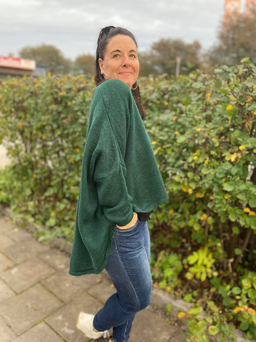 SASSA Oversized Sweater Grön