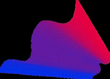 波状の3Dネット