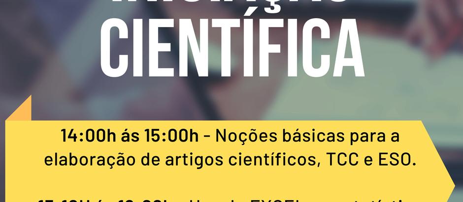 Ciclo de palestras - Iniciação científica