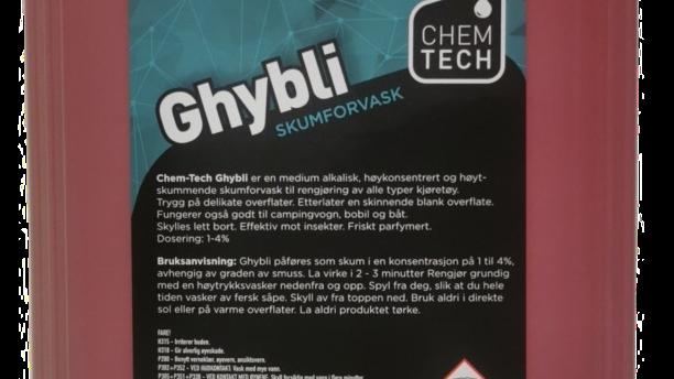 Ghybli Forvasksåpe 5L